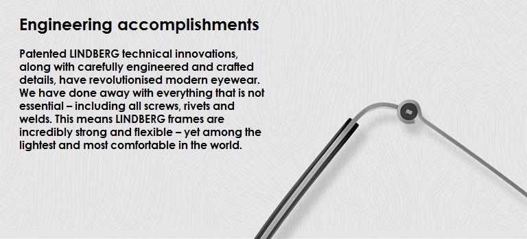 Lindberg Engineering Accomplishment